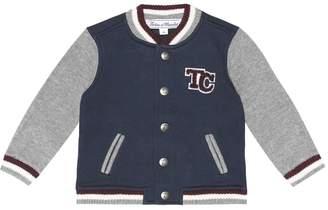 Tartine et Chocolat Baby jersey varsity jacket