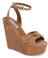 Steve Madden Women's Tylie Platform Wedge Sandal