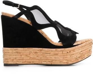 Sergio Rossi Tribal platform sandals