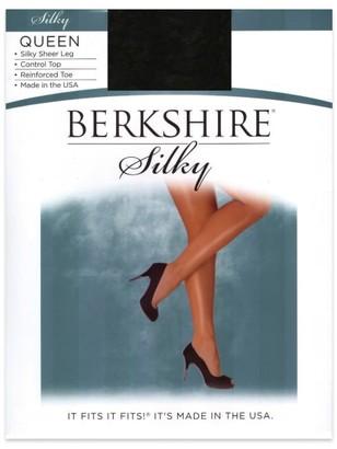 Berkshire Queen Silky Sheer Control Top Pantyhose