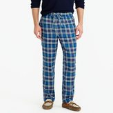 J.Crew Flannel pajama pant in blue plaid