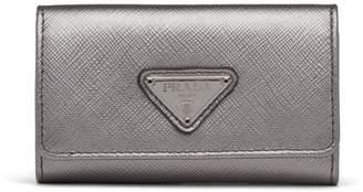 Prada Saffiano purse keychain