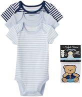 Vitamins Baby Baby Boy 3-pk. Bodysuit & Sticker Set