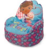 Disney Doc McStuffins Toddler Bean Bag Sofa Chair