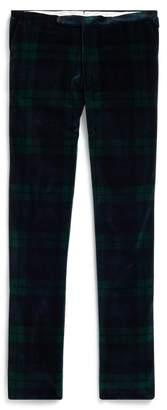Ralph Lauren Polo Tartan Velvet Trouser