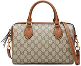 Gucci GG Supreme top handle bag - women - Leather/Canvas/metal/Microfibre - One Size
