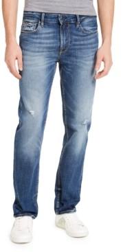 GUESS Men's Slim-Fit Straight Leg Jeans