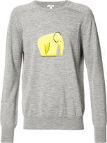 Loewe elephant motif jumper - men - Polyamide/Virgin Wool - S