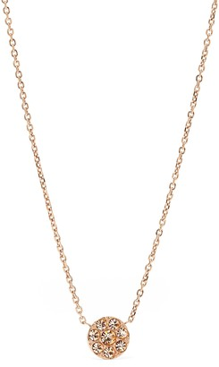Fossil Women's Rose Gold Necklace JF00846791