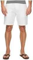 Nautica Linen Cotton Shorts (Bright White) Men's Shorts