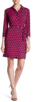 Donna Morgan Printed Fitted Shift Dress
