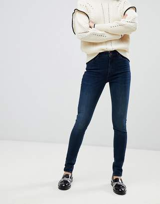 Maison Scotch Haute Skinny Jeans-Navy