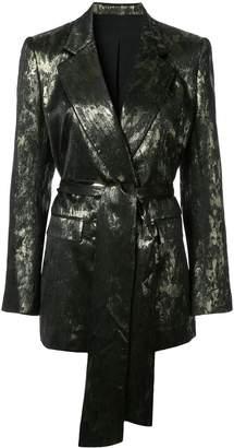 LAYEUR belted blazer