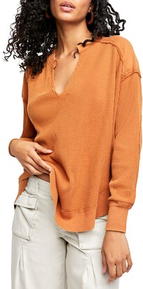 Free People Owen Thermal Pullover