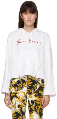 Versace White GV Signature Hoodie