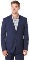 Perry Ellis Slim Fit Bright Blue Tic Suit Jacket