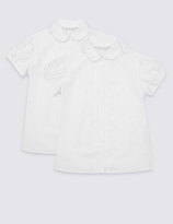 Marks and Spencer 2 Pack Girls' Blouses