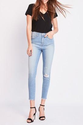 Vervet By Flying Monkey Venice High Waist Crop Skinny Jeans
