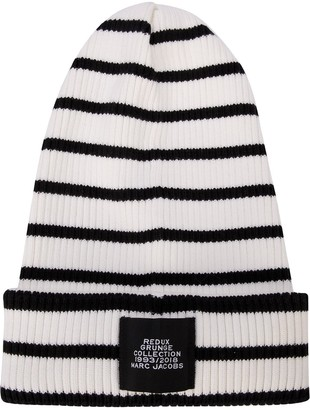 Marc Jacobs Stripe Beanie
