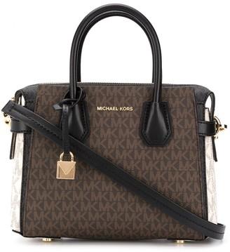 MICHAEL Michael Kors Mercer Small Logo Belted satchel bag