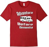 Men's Adventure Before Dementia T-Shirt Motor Home Motorhome Shirt 3XL