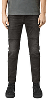 Allsaints Allsaints Reynold Biker Skinny Jeans, Black