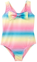 Betsey Johnson Sparkle Ombre One Piece with Bow (Toddler Girls)