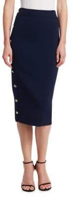 Altuzarra Enya Snapped Pencil Skirt
