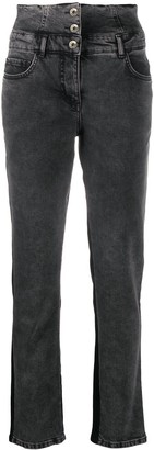 Patrizia Pepe Colour-Block Jeans