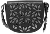 Mackage Rima-A Pebble Leather Crossbody Studded Satchel In Black
