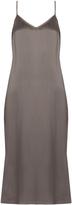 Equipment Anika silk-satin slip dress