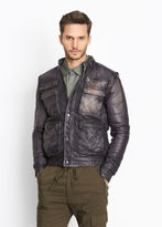 Vince Leather Flight Jacket
