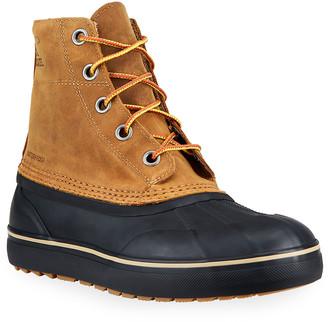 Sorel Men's Cheyanne Metro Waterproof Suede Boots