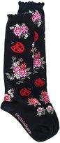 Dolce & Gabbana floral socks