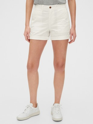 "Gap 5"" High Rise Khaki Shorts"