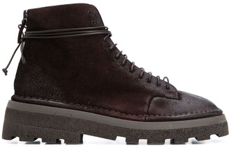 Marsèll Track-Sole Ankle Boots