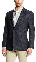 Tommy Hilfiger Men's Ethan 2 Button Side Vent Check Sport Coat