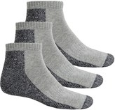 Ecco Cushion Sport Socks - 3-Pack, Ankle (For Men)