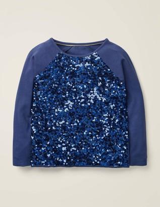 Boden Sequin Raglan T-Shirt