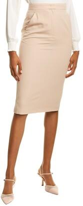 Max Mara Frais Wool Pencil Skirt