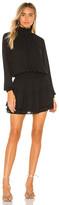 Krisa X REVOLVE Smocked Turtleneck Dress