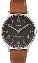 Timex Waterbury Classic Silver Brown