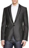 HUGO Adron Tipped Regular Fit Blazer