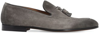 Doucal's Suede Loafers W/ Tassels