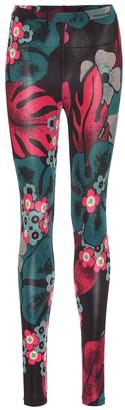 Dries Van Noten Floral leggings