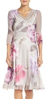Komarov Women's Chiffon A-Line Dress