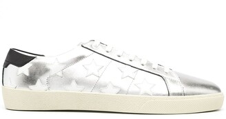 Saint Laurent Star-Patch Low-Top Sneakers