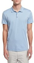 Theory Boyd Short-Sleeve Polo Shirt, Dark Poles