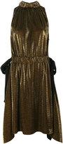 Fendi sleeveless dress - women - Silk/Polyester/Viscose - 44