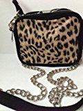 Victoria's Secret Pink Leopard cross body bag